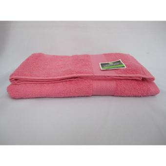 Organic Lifestyle Bath Towels by Canadian 27x50cm (Baby Pink) Price Philippines