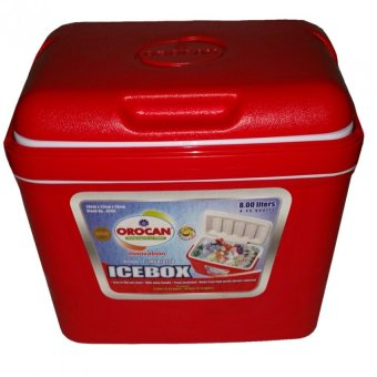 Orocan Ice cooler 30 liters red