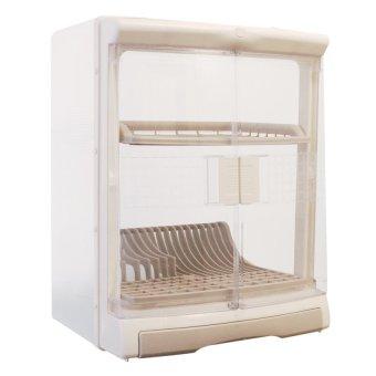Orocan Splendido Dish Cabinet (White)