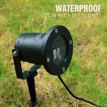 Outdoor IP65 Waterproof Star Projector Laser Light Garden Christmas Decor+Remote - intl - 4