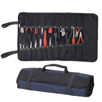 Oxford Canvas Chisel Roll Rolling Repairing Tool Utility Bag Multifunctional With Carrying Handles Brand New Tool Bag