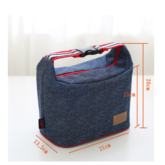 Oxford Cloth Bag insulated security and cold lunch bag container bag