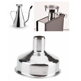 Pack of 6 Stainless Steel Mini Funnel for Essential Oil Bottles /Flasks - intl