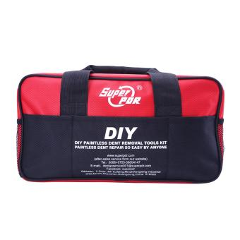 Paintless Dent Repair (PDR) Tools Bags Red with Warning LuminousStrip - intl