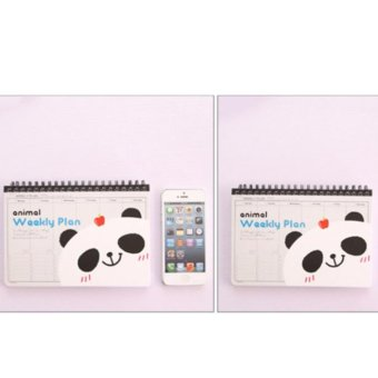 Panda Weekly Plan Journal Calendar Notebook Price Philippines