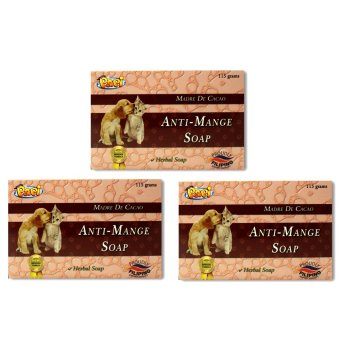 Papi Anti-Mange Madre De Cacao 115g Set of 3 - 3