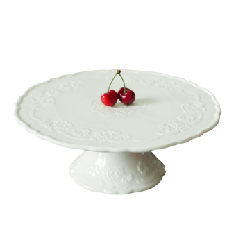 Party dessert table tall cake dish fruit plate