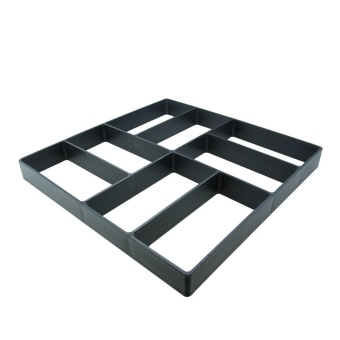 Pathmate Stepping Stone Mold Garden Walk Maker Patio Paver ConcreteMold, Brick Pattern - intl