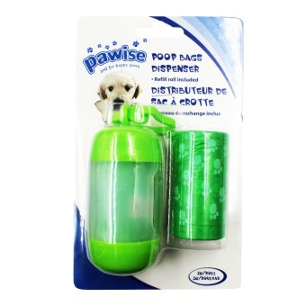 Pawise Dog Poop Bag Dispenser (Green) Price Philippines