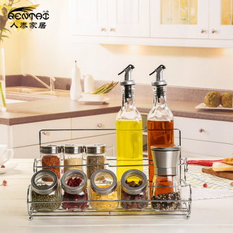 Pepper grinder glass condiment bottles seasoning containers
