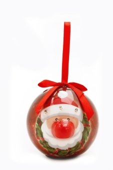 Perfect Holiday Collection LED Christmas Ball (Red)