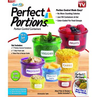 Perfect Portions Food Storage Containers - Easy Way To Lose WeightUsing Portion