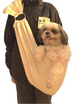Pet Depot Sling Bag Carrier (Beige)