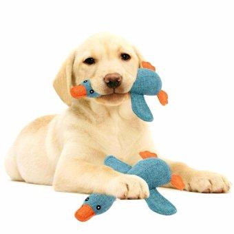 Pet Dog Sound Toys Solid Resistance To Bite Color:Blue - intl - 5
