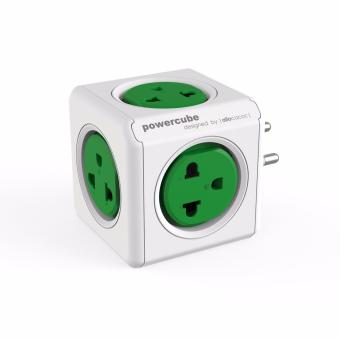 PH - Powercube Original 5 Power Outlet w/ Surge Protector - Green Price Philippines