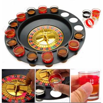 Phoebe's Shot Glass Drinking Roulette Game Set Glasses Beer Game
