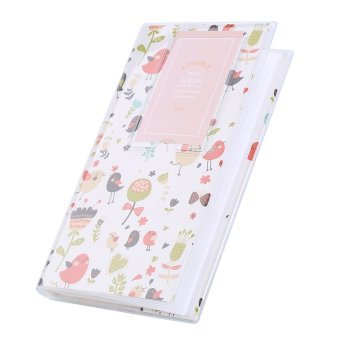 Photo Album Storage Case For Polaroid Mini Instax 84 Pockets(Flower)