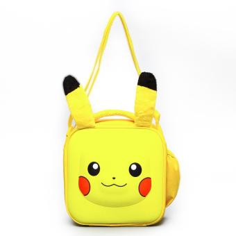 Pikachu Yellow 3D Insulated Bag