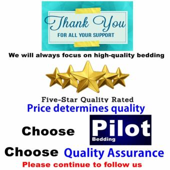 Pilot Bedding PL001 New Arrival 4 in 1 Plain Color Skin-Friendly Soft and Comfortable Cotton Symphony Style Best Wedding Gift Bedding Suit - 2