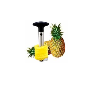 Pineapple Corer Slicer Cutter Peeler (Silver)