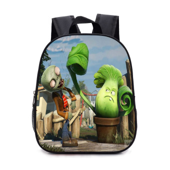PLANTS VS.ZOMBIES children anniversery kindergarten shoulder backpack school bag