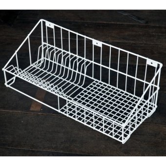 Plastic Coated WALL ORGANIZER MULTI DISH DRAINER DISH RACK KITCHEN ORGANIZER PLATES SPOONS AND FORK HOME ORGANIZER HOME STORAGE