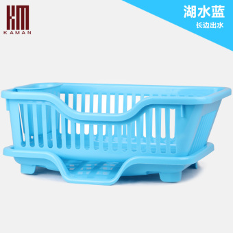 Plastic large kitchen cutlery drain rack