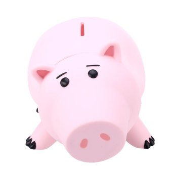 Plastic Piggy Bank Saving Cash Coin Money Box Children Kids Lovely Pink