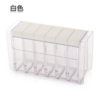 Plastic salt MSG seasoning storage box seasoning bottles