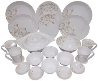 Pleats Dinner ware Sets - 24 pc Price Philippines