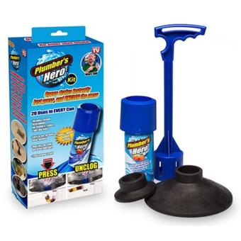 Plumber's Hero toilet declogging kit Price Philippines