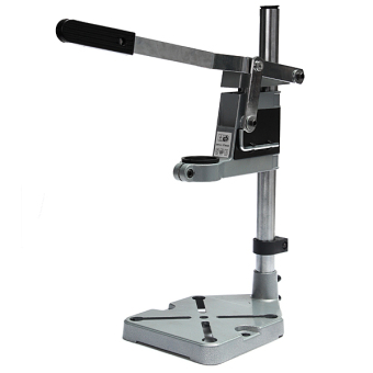 Plunge Power Drill Press Stand Bench Pillar Pedestal Clamp + DEPTH GAUGE - UK