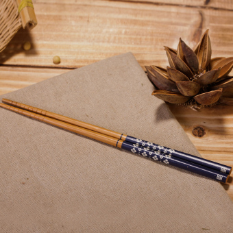 Pointed Japanese-style non-slip chopsticks
