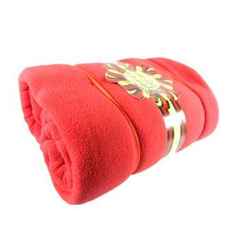 Polar Fleece Travel Blanket 50x60 (Red)