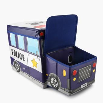 Police Car Foldable Storage Box