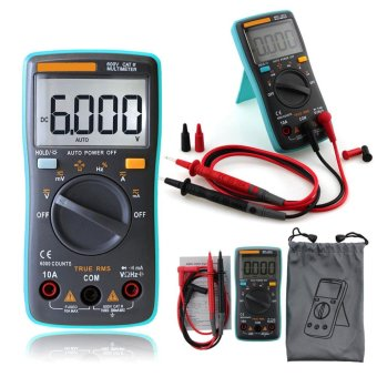 Portable Digital Multimeter Backlight AC/DC OHM Volt Tester size:RM101 - intl