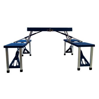 Portable Folding Table (Blue) - picture 3