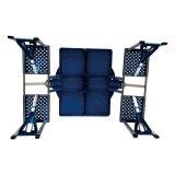 Portable Folding Table (Blue) - thumbnail 4