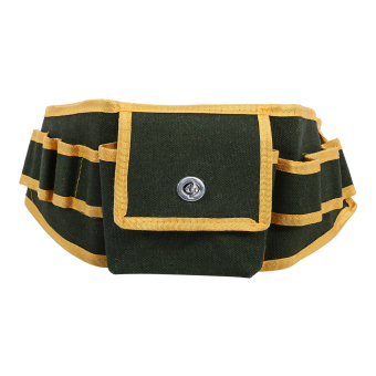 Portable Multifunctional Canvas Tool Bag Pouch Holder Screwdriver Utility Kit Holder Electrician Waist Pack Belt - intl