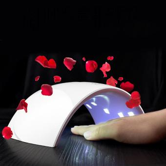 Portable Nail Dryer LED UV Light for Gel Nails Polish Dry HandFinger Foot Gels - intl