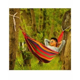 Portable Outdoor Swing Hammock (RED)