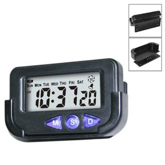 Portable Pocket Sized Digital Electronic Travel Alarm ClockAutomotive Electronic Stopwatch Sale - intl Price Philippines
