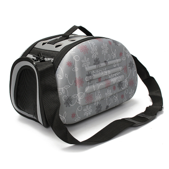 Portable Small Pet Dog Cat Sided Carrier Travel Tote ShoulderBagCage House - intl