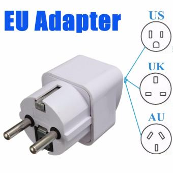 Portable UK US AU to EU European 2Pin Power Socket Plug Adapter Travel Converter Universal Price Philippines