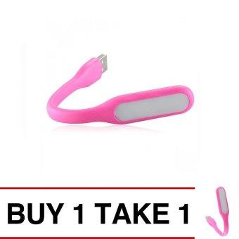 Portable USB LED Lamp (Pink) Buy 1 Take 1