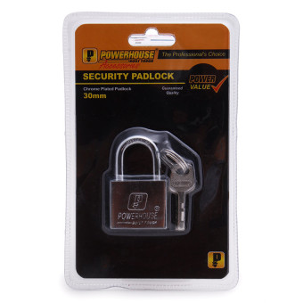 PowerHouse 30mm Short Shackle Padlock Price Philippines