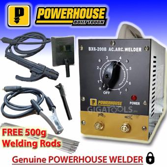 Powerhouse BX6-200B Stainless Body Portable Welding Machine with FREE 500g Welding Rod Price Philippines