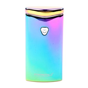 PRIMO Metal Finish Wind Proof USB Rechargeable Arc Lighter (Blue)