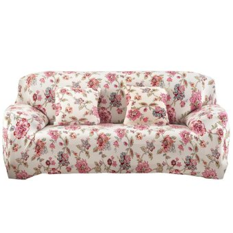 Printed Cloth Art Spandex Stretch Slipcover Sofa Cover - intl