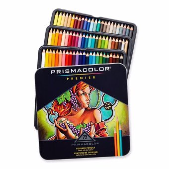 Prismacolor Premier Colored Pencils, Soft Core, 72-Count - intl Price Philippines